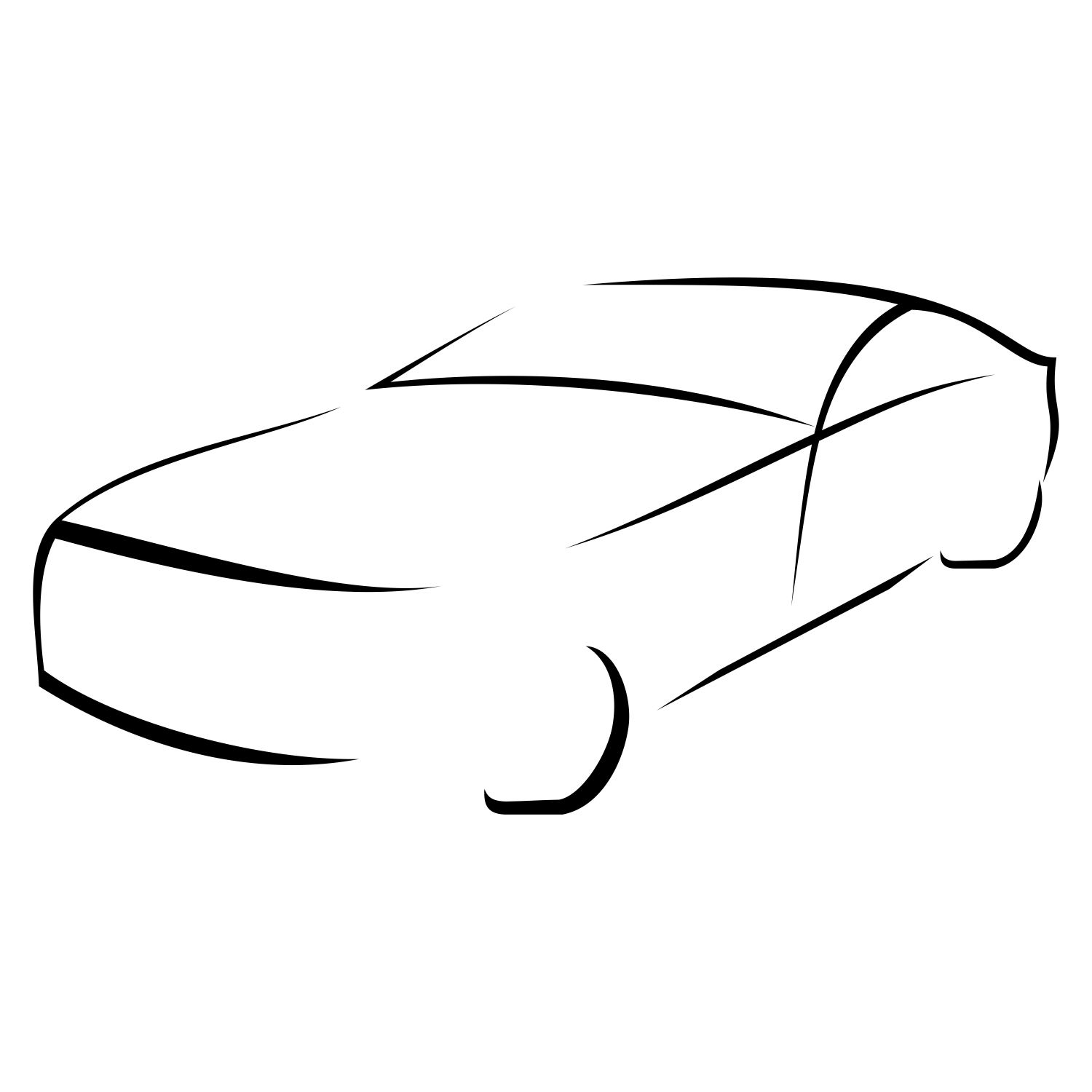 Vector For Free Use Car Silhouette Vector