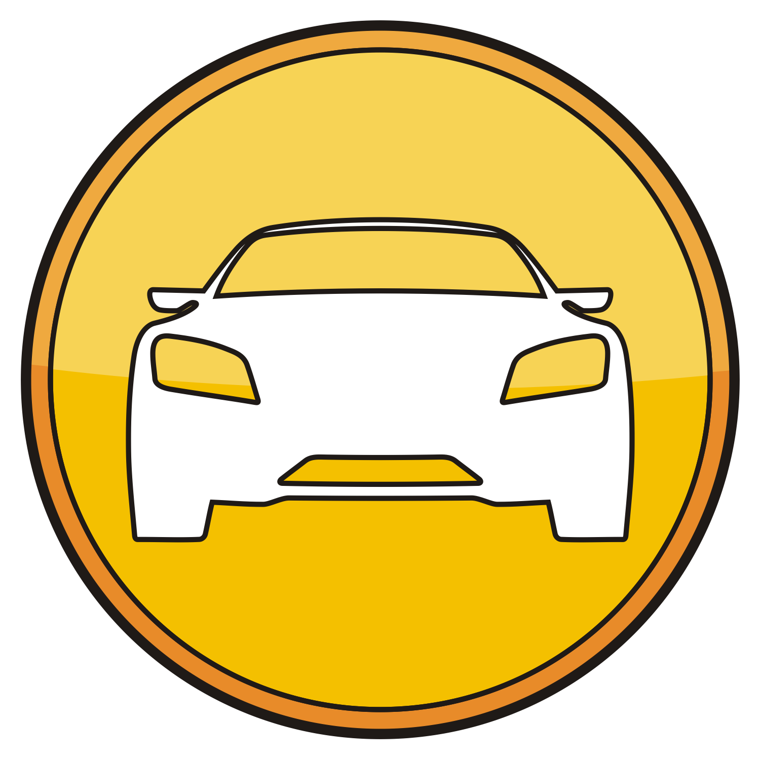 Auto icon illustration