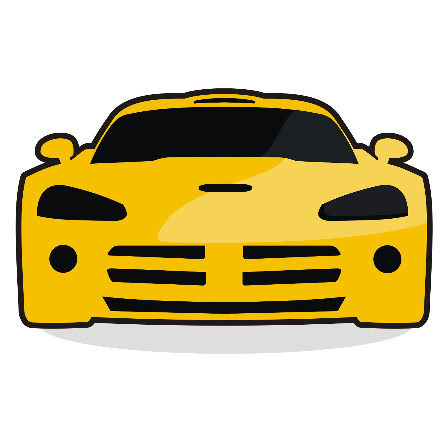 Vector For Free Use: Race Car