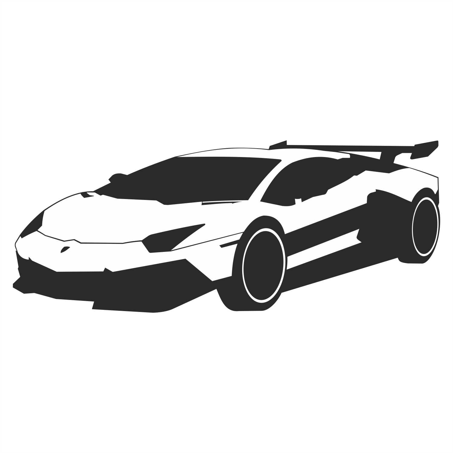 vector for free use lamborghini vector