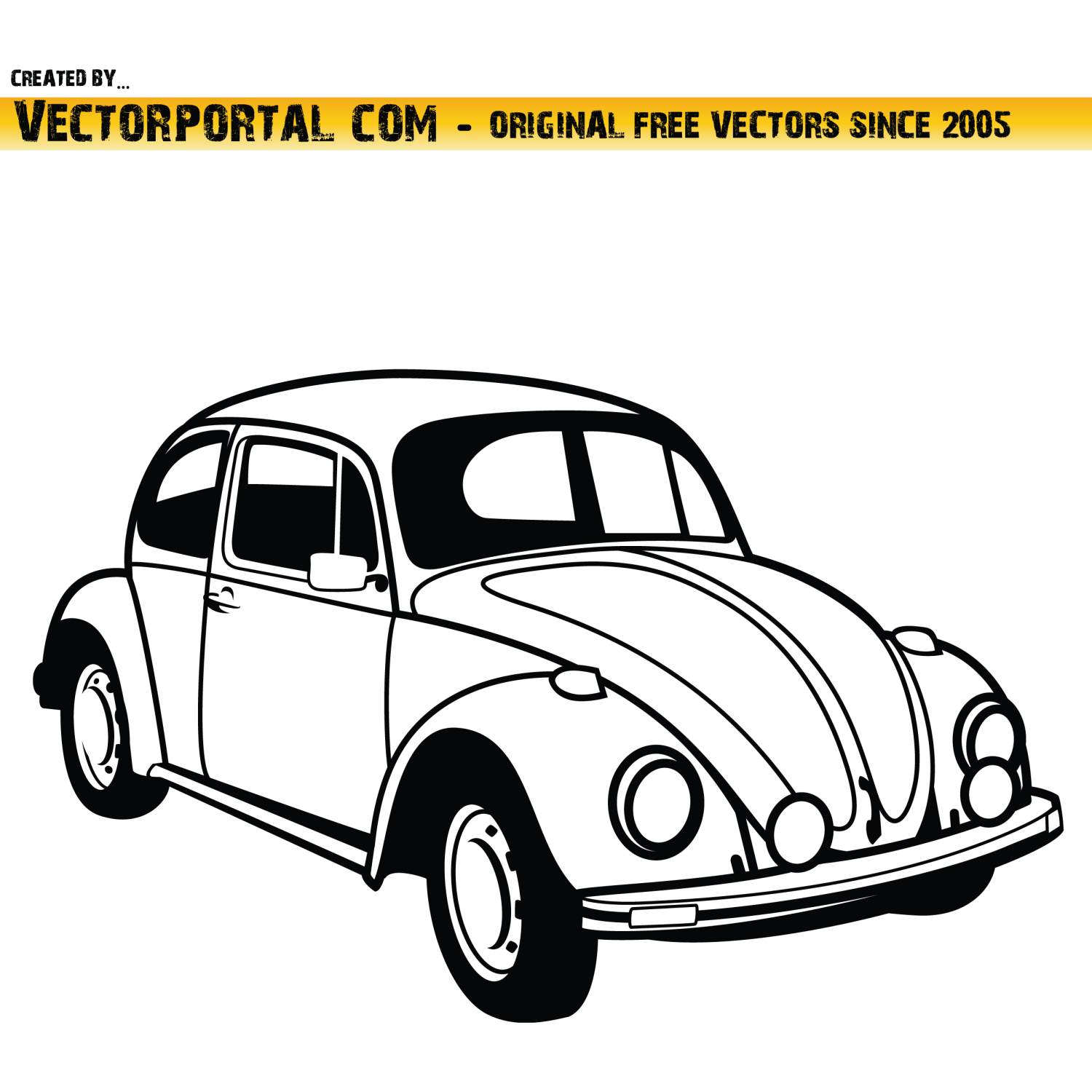 Vector For Free Use Vw Car Vector