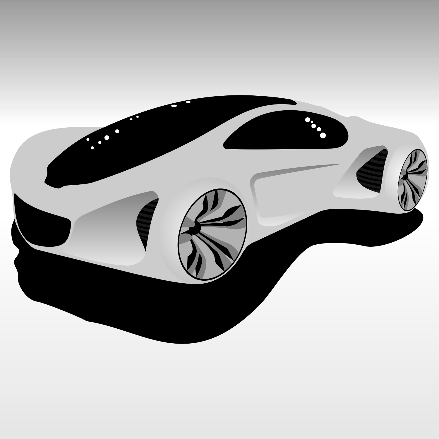 Vector For Free Use: Mercedes-Benz Biome