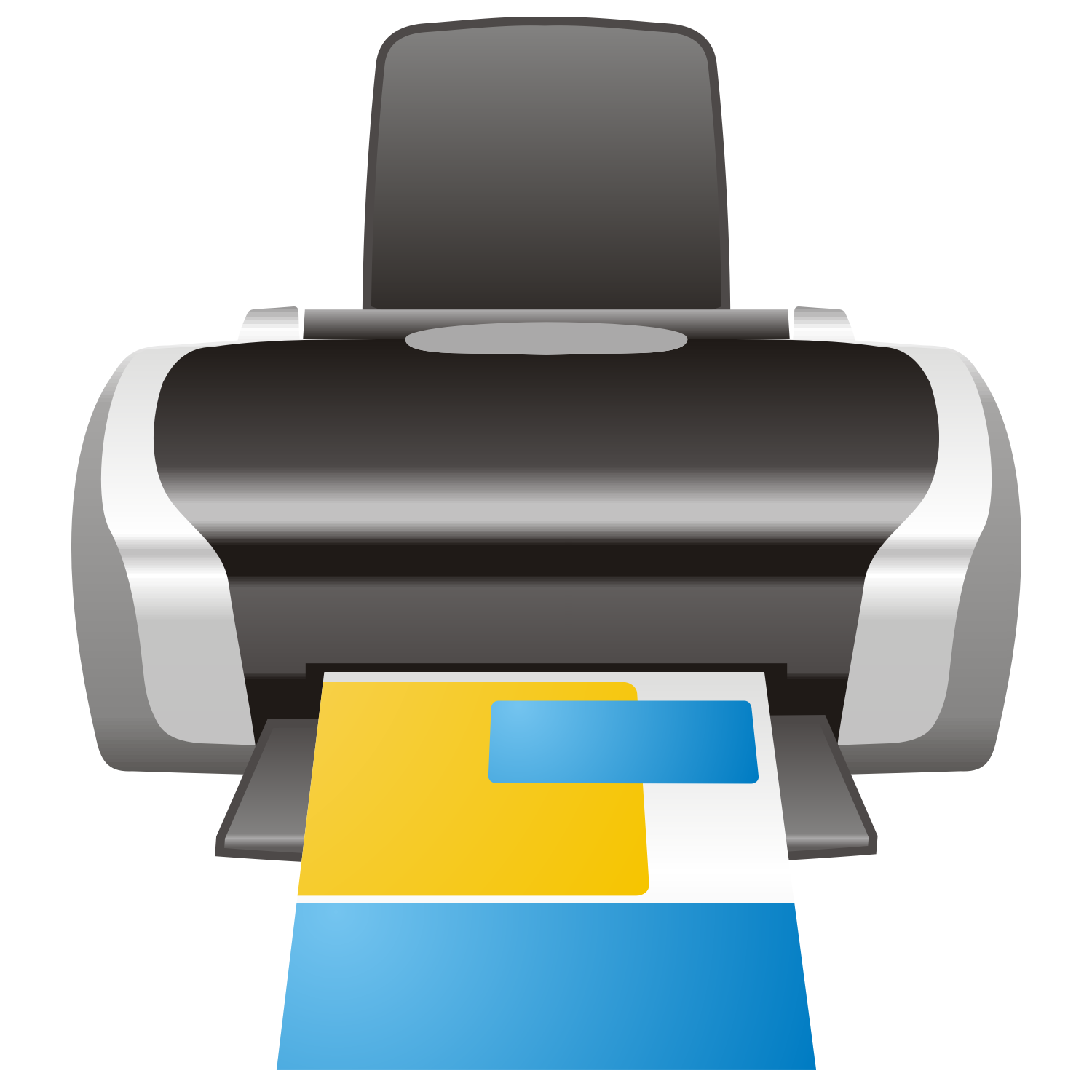 InkJet Printer vector