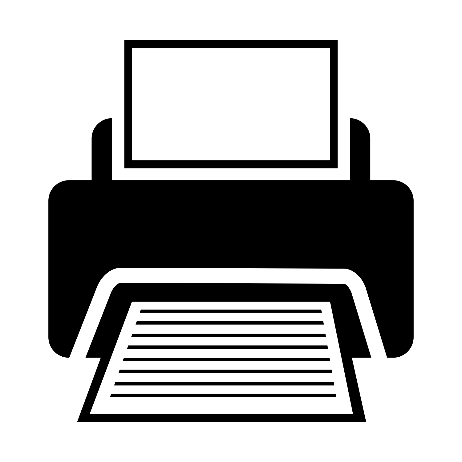 vector for free use sign of printer vector for free use sign of printer