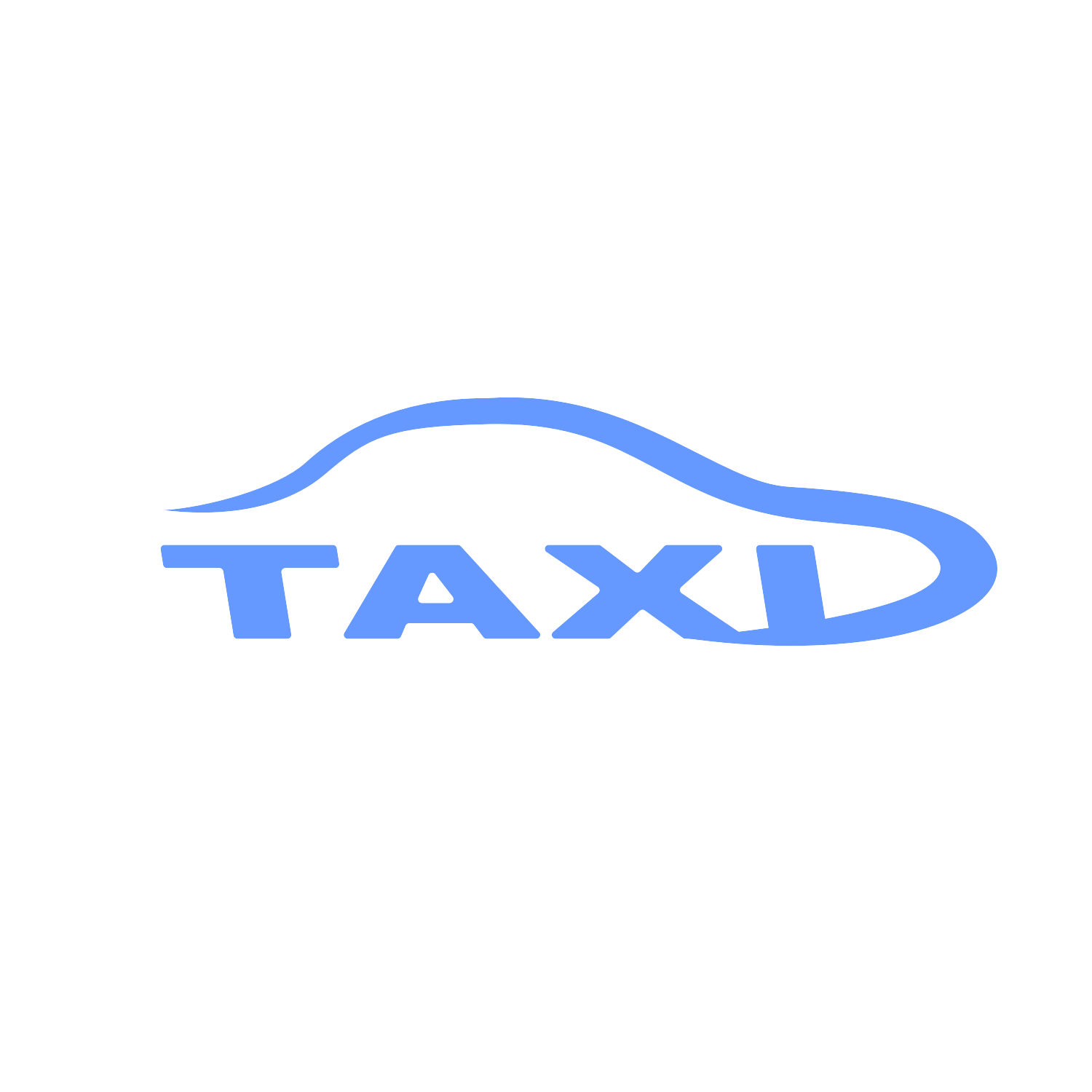 Vector for free use: Taxi logo