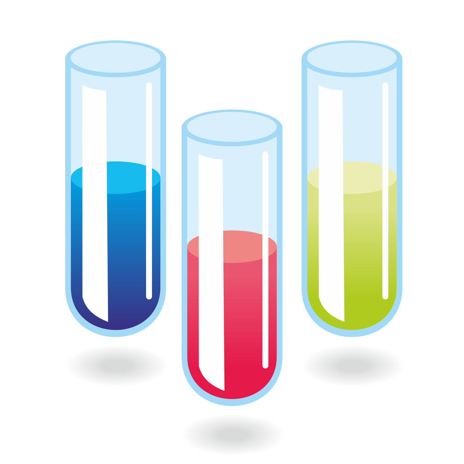 Vector For Free Use Test Tubes Vector