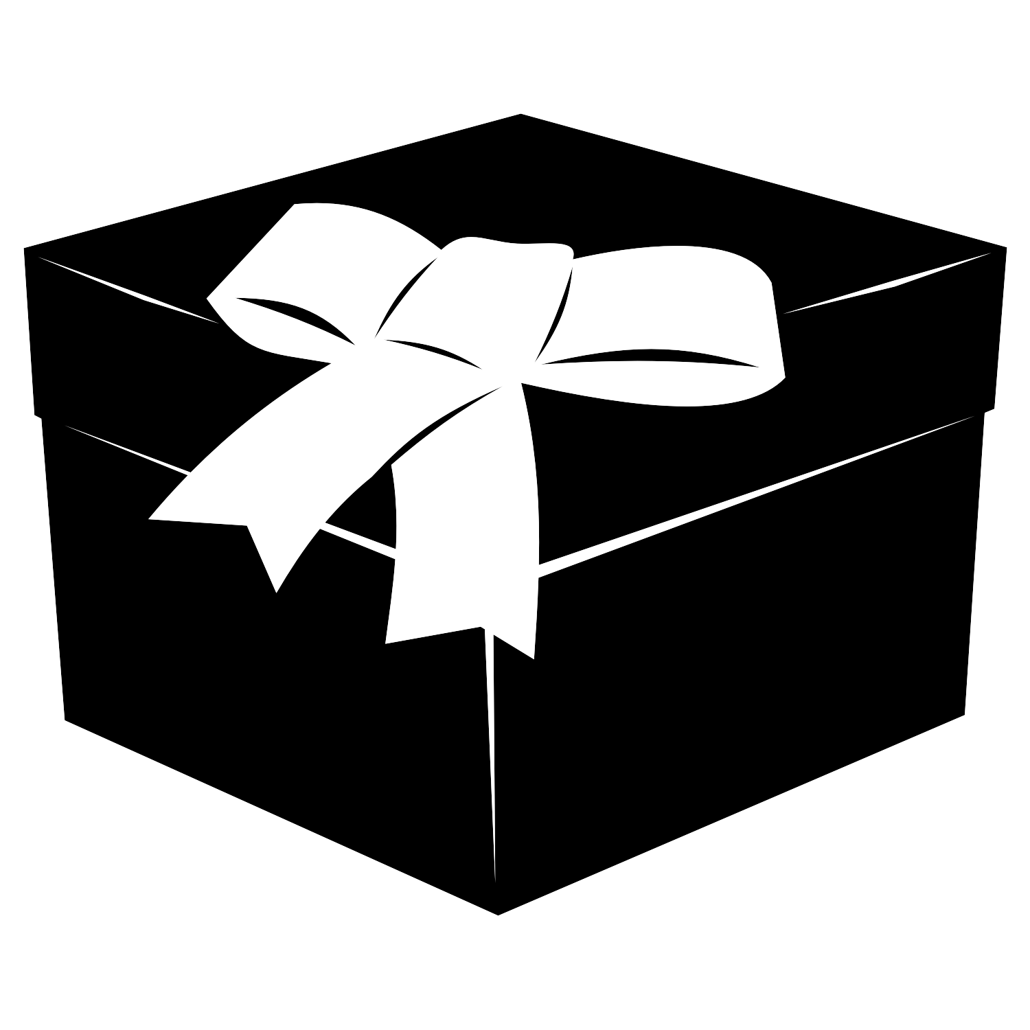 Vector for free use: Gift box