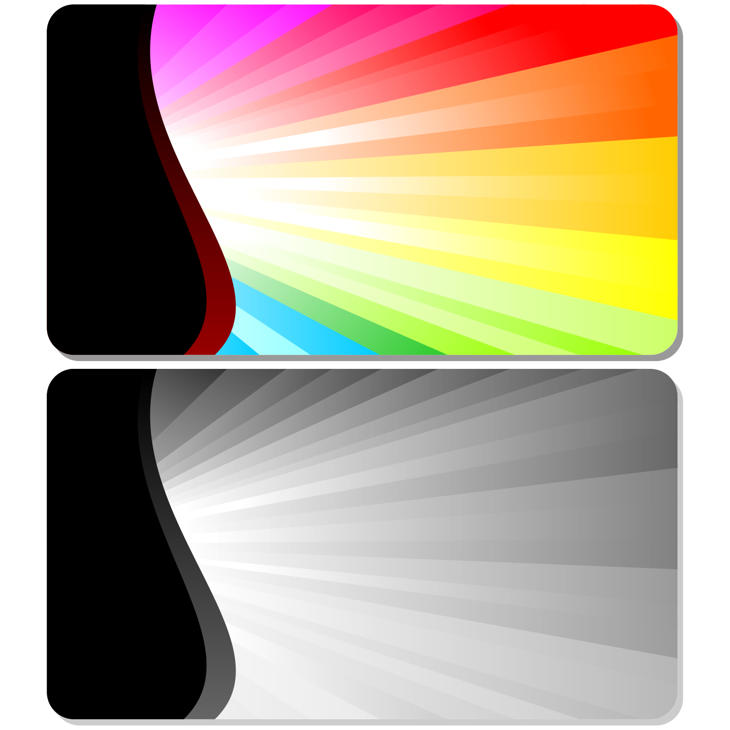Vector For Free Use: Abstract Burst Card