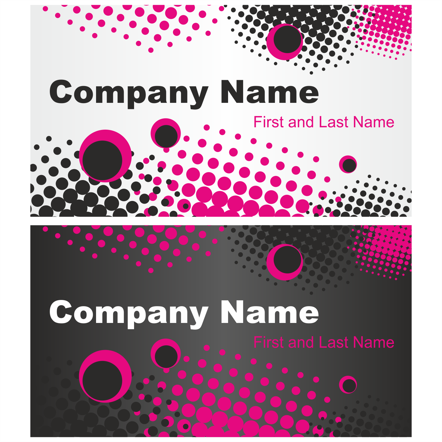 vector for free use grunge business card set
