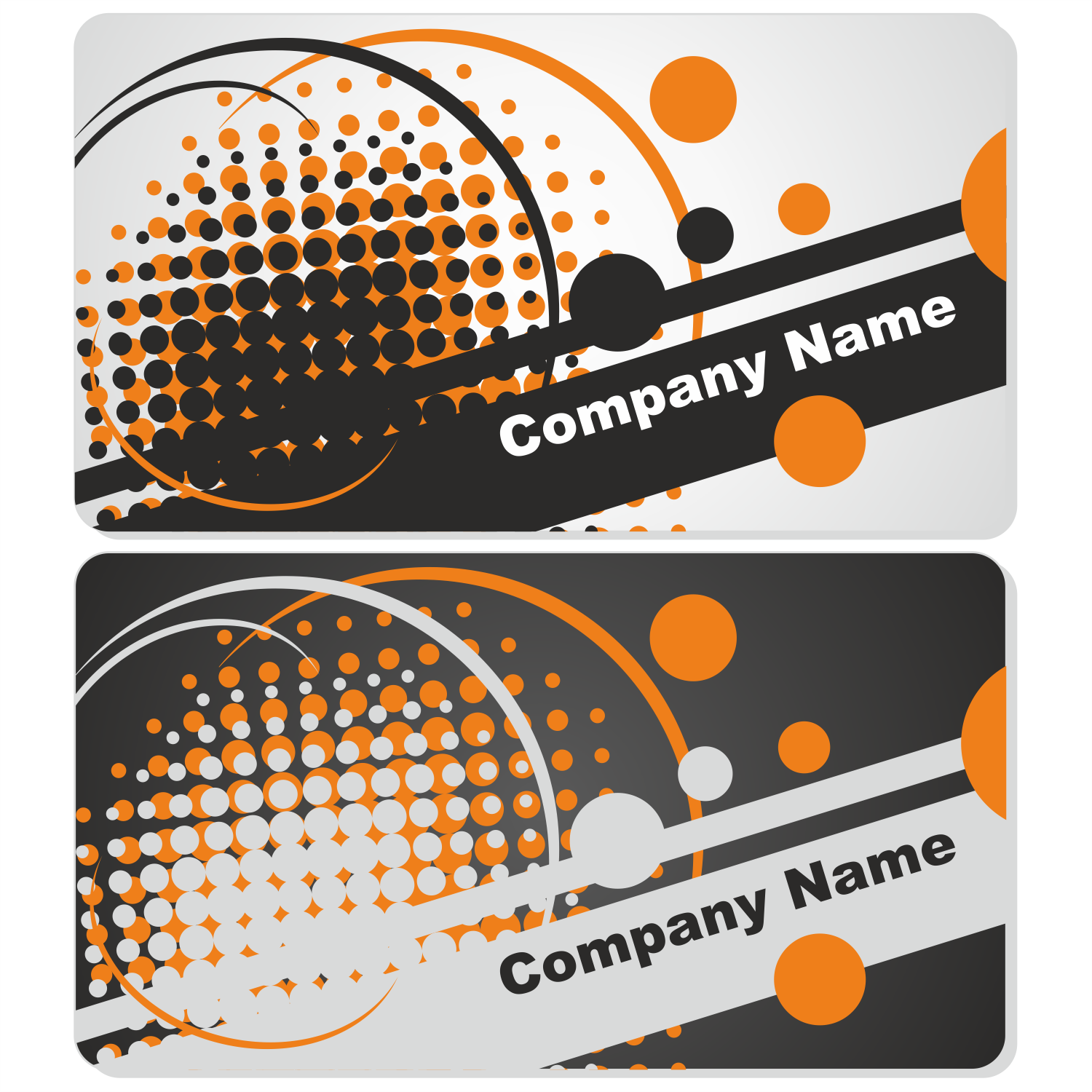 vector for free use abstract business card set