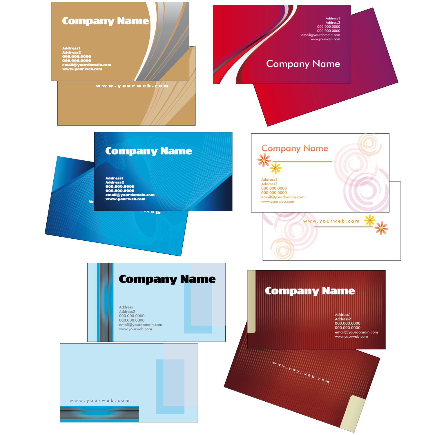 Creative Business Card Templates – 2