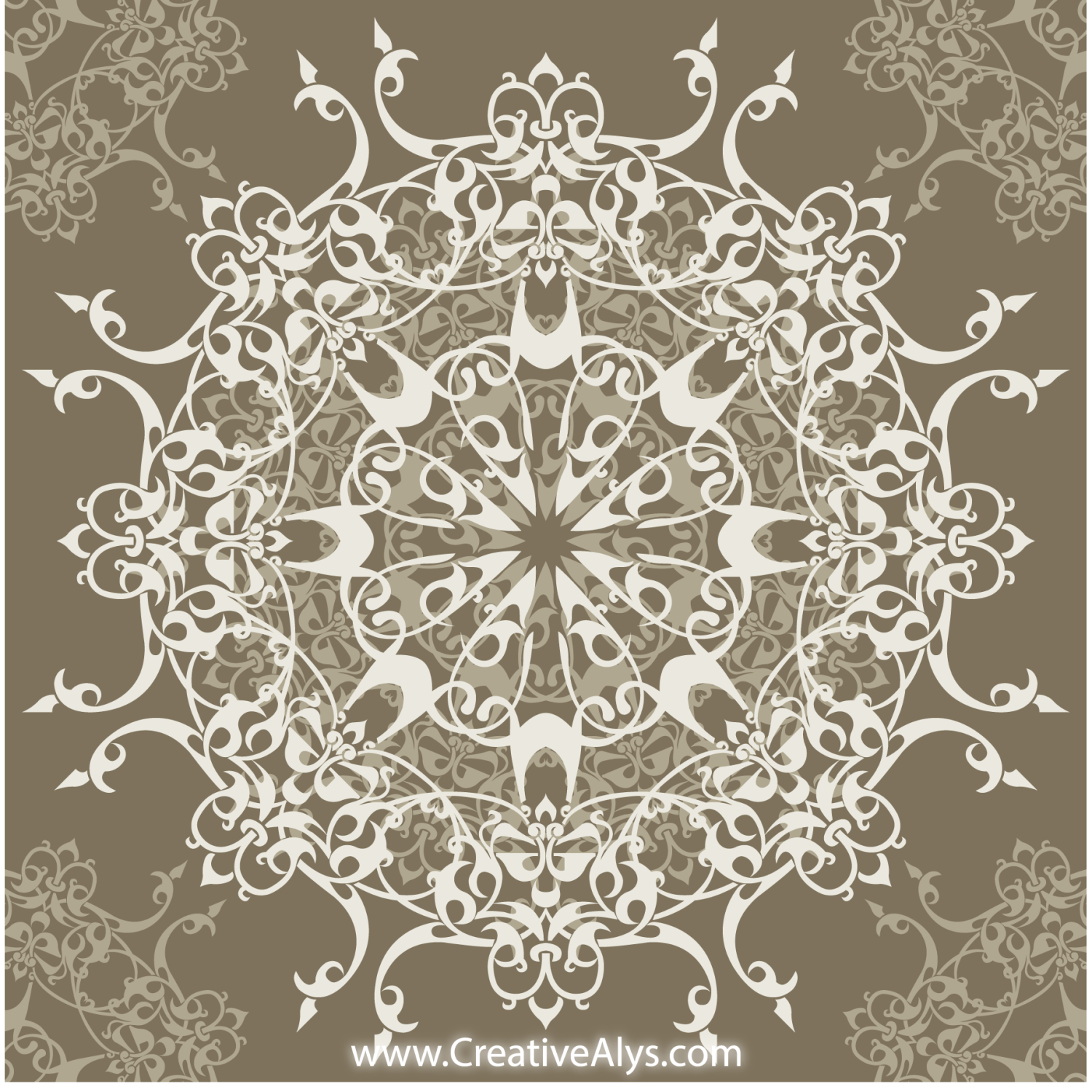 vector for free use classy seamless pattern design
