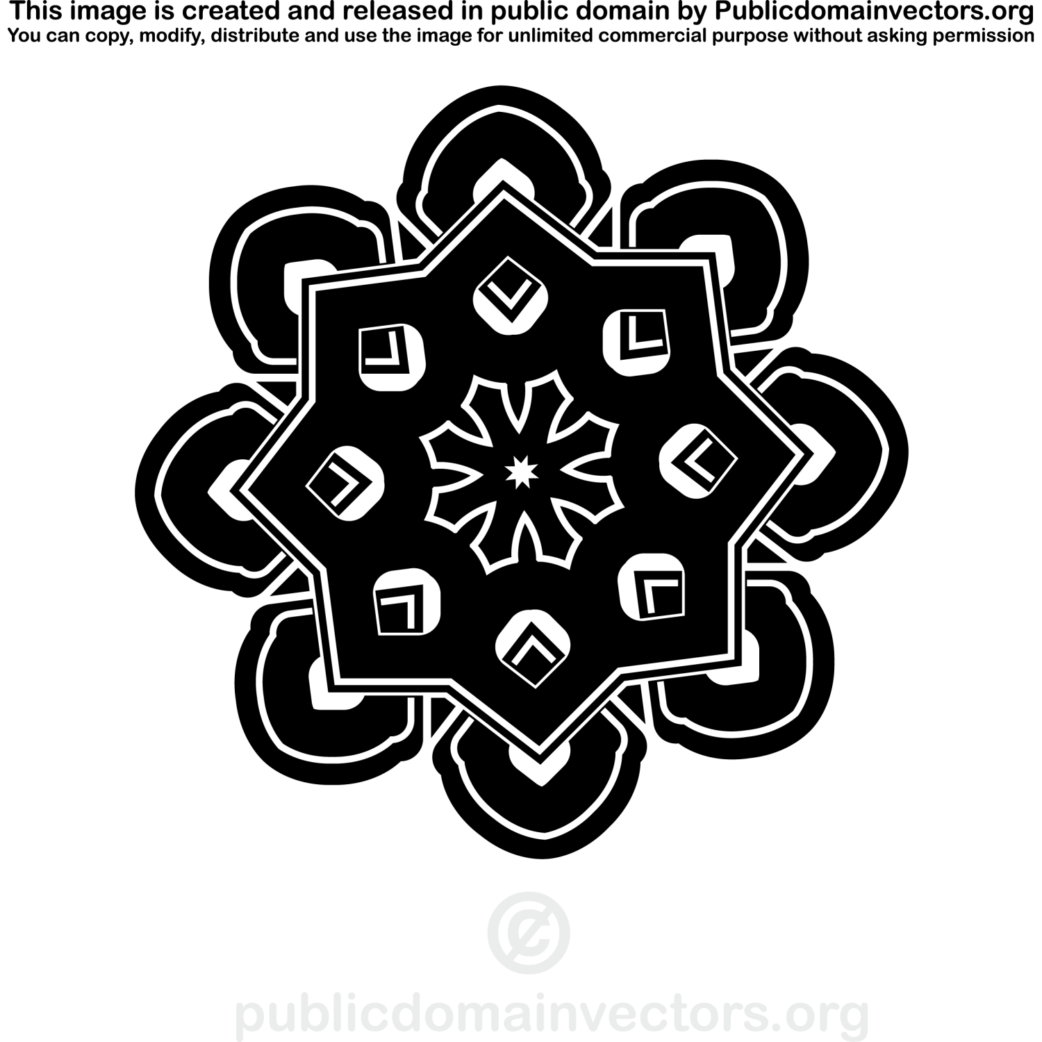 Celtic knot vector clip art