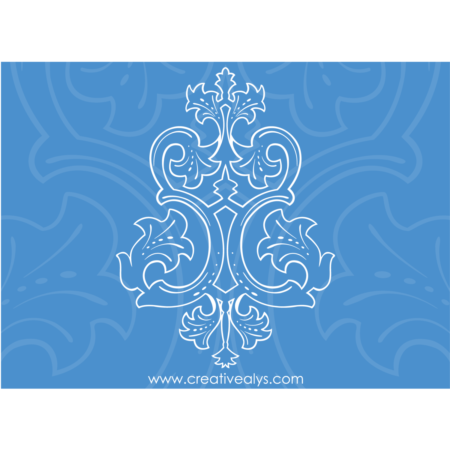 Its definitely a unique and creative piece of graphic design. Everyone loves ornaments and floras. Beautiful ornament is in vector format for easily customization and can be used in websites and blogs as a background or other elements to make the websites more appealing.