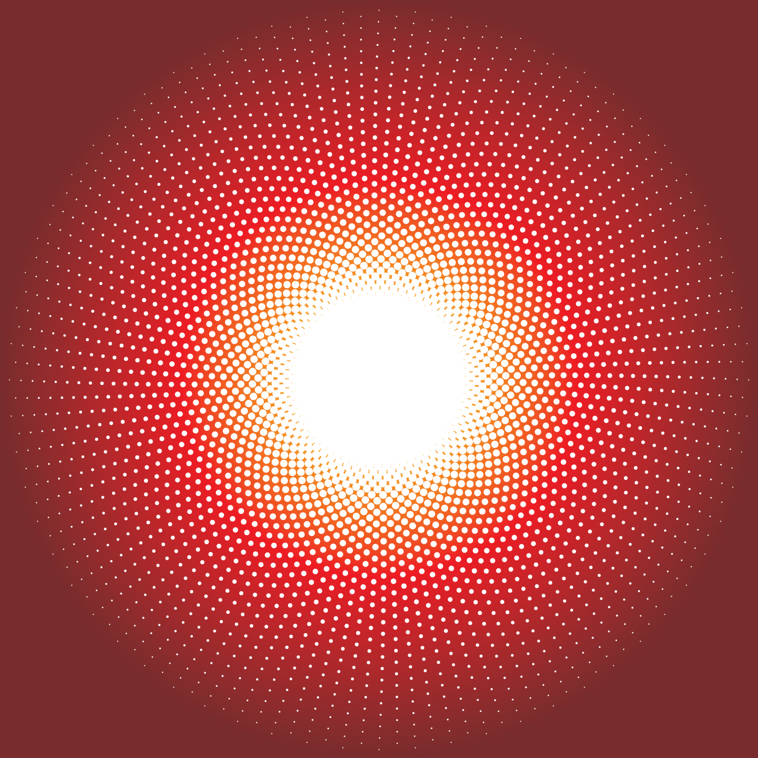 Halftone Dots Vector Image.