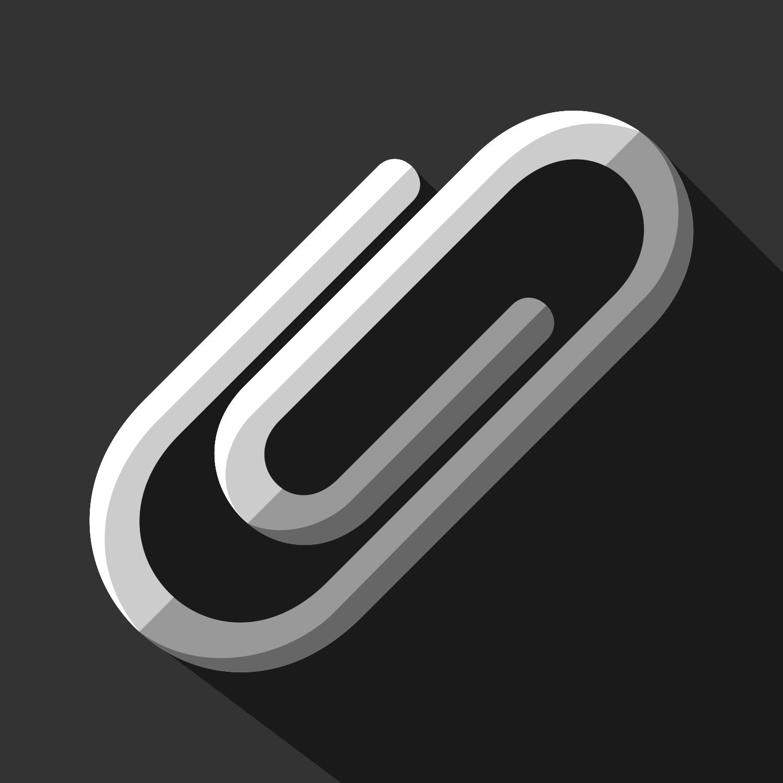 Paper clip vector free download