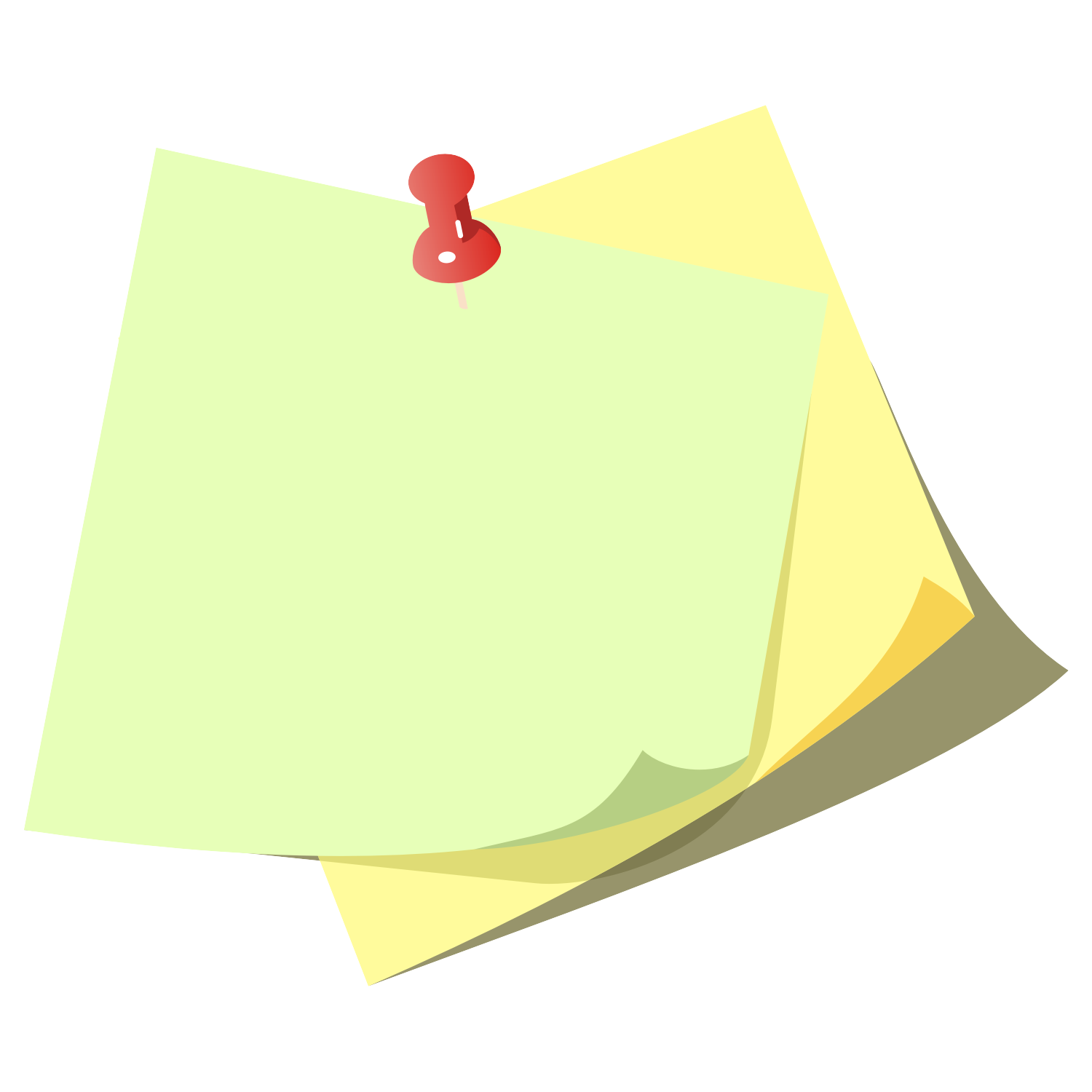 Note Vector Png Note Paper Vector