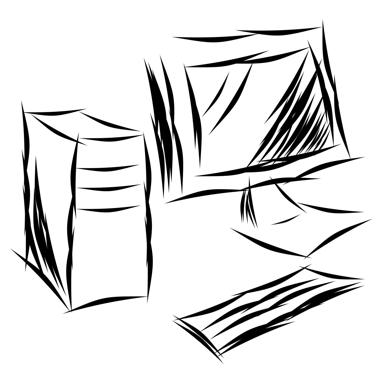 Sketch Desktop Computer
