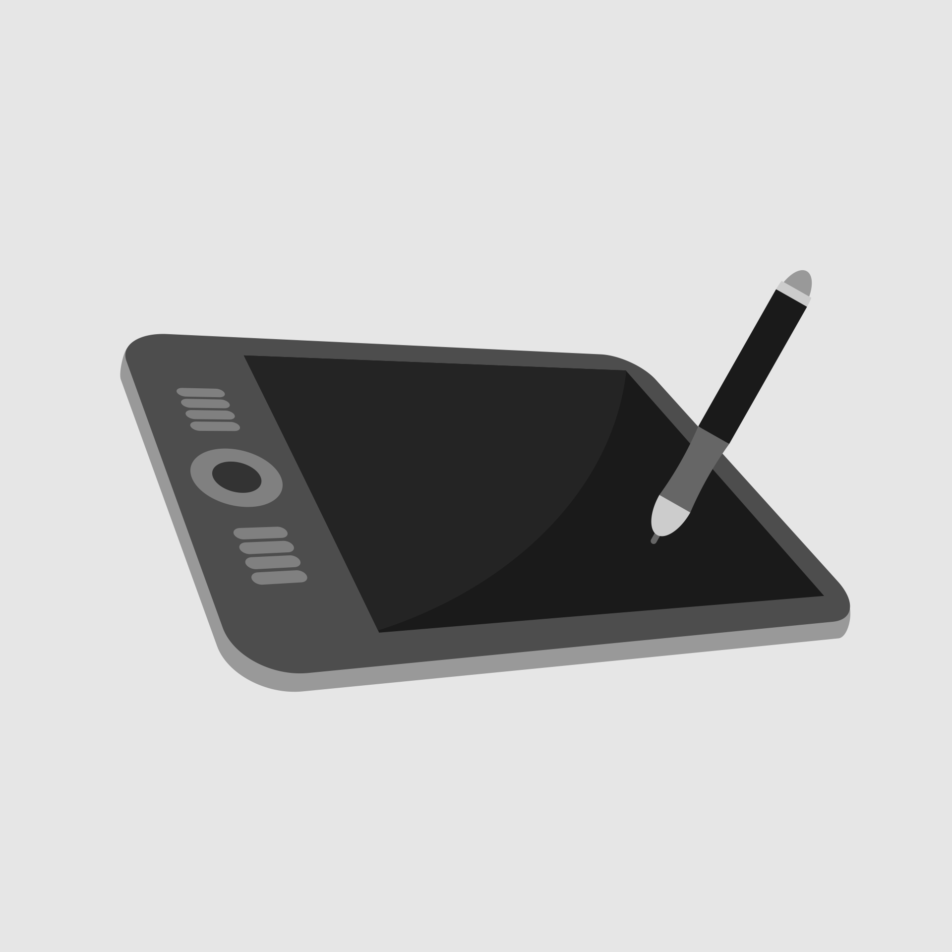 Graphics tablet vector