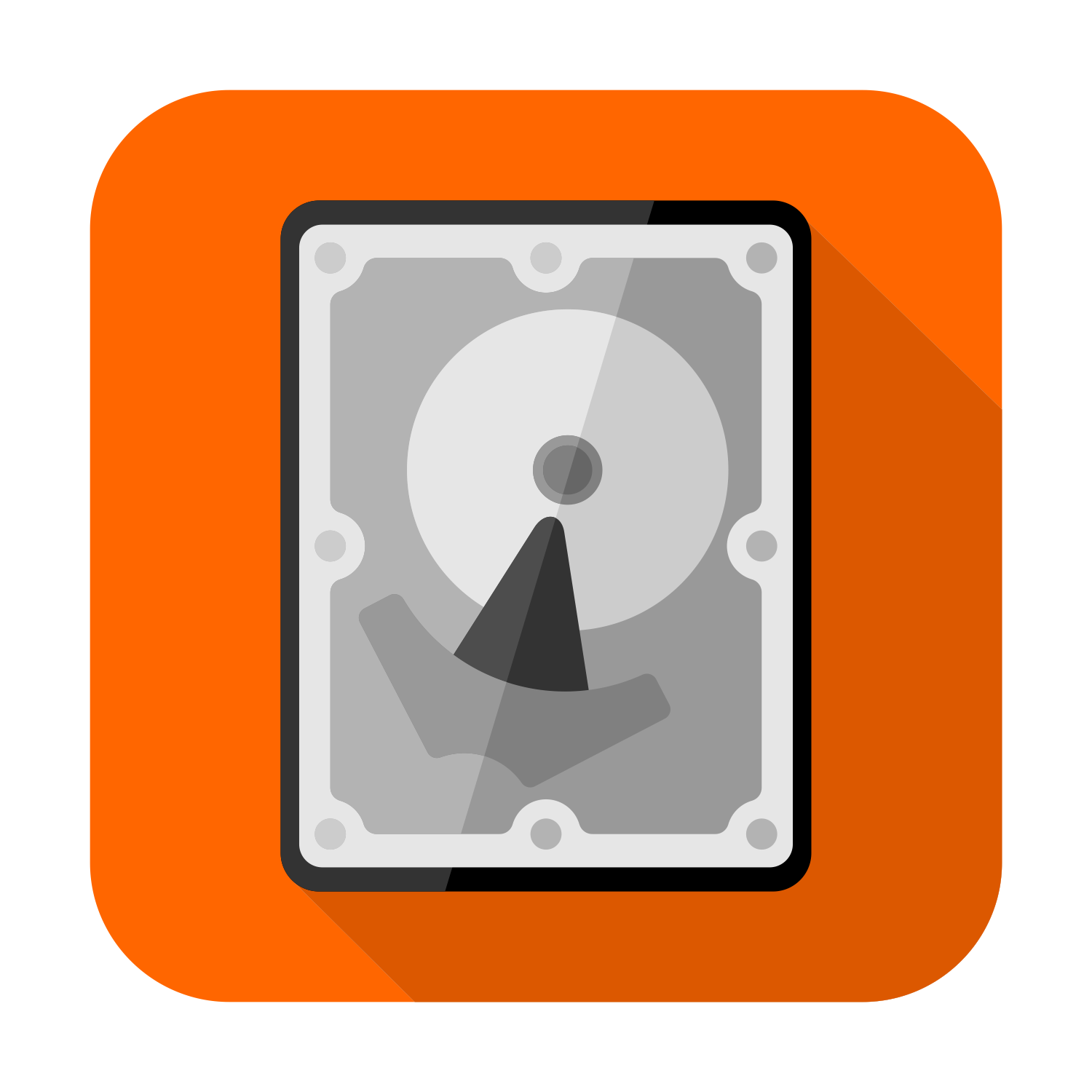 HDD vector icon