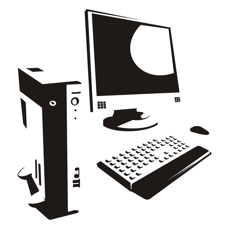 Компьютер вектор в картинках