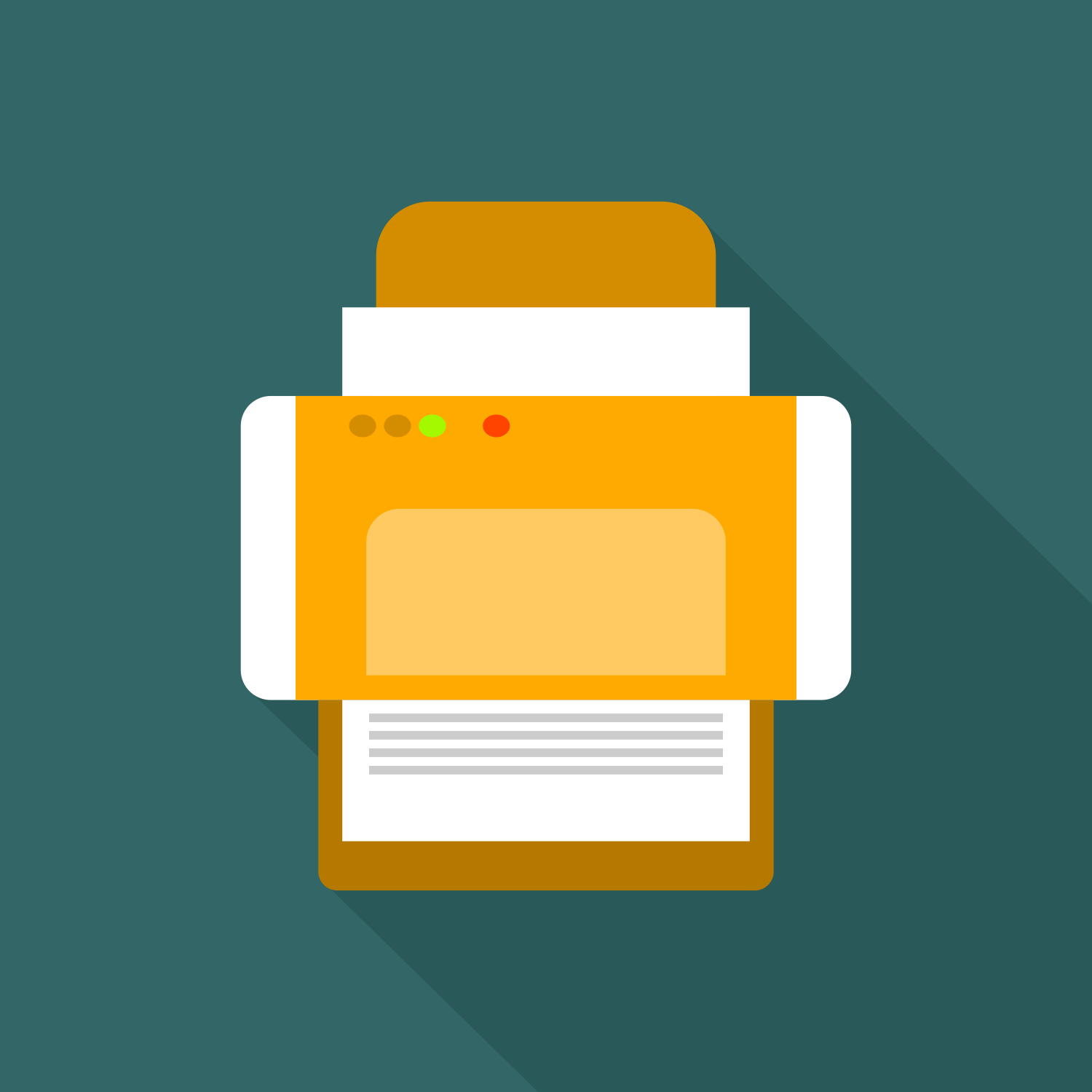 vector for free use printer icon vector for free use printer icon