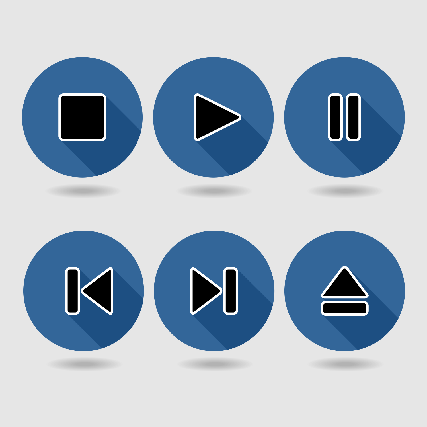 Player button set