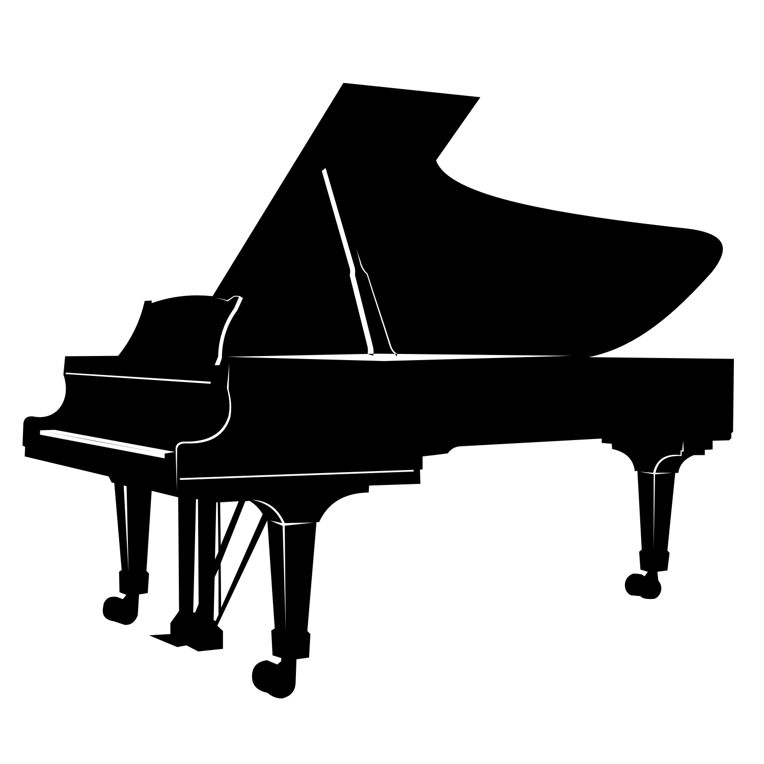 Vector For Free Use Piano Vector