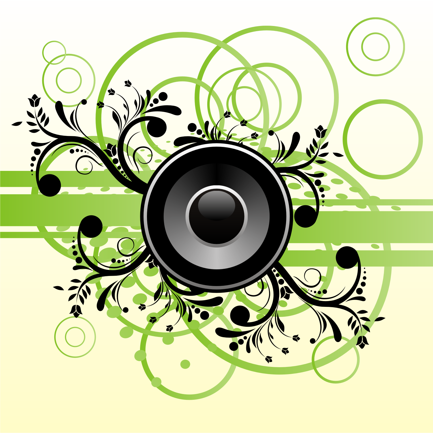 Free Vector Description: Speaker on abstract background. Free vector ...