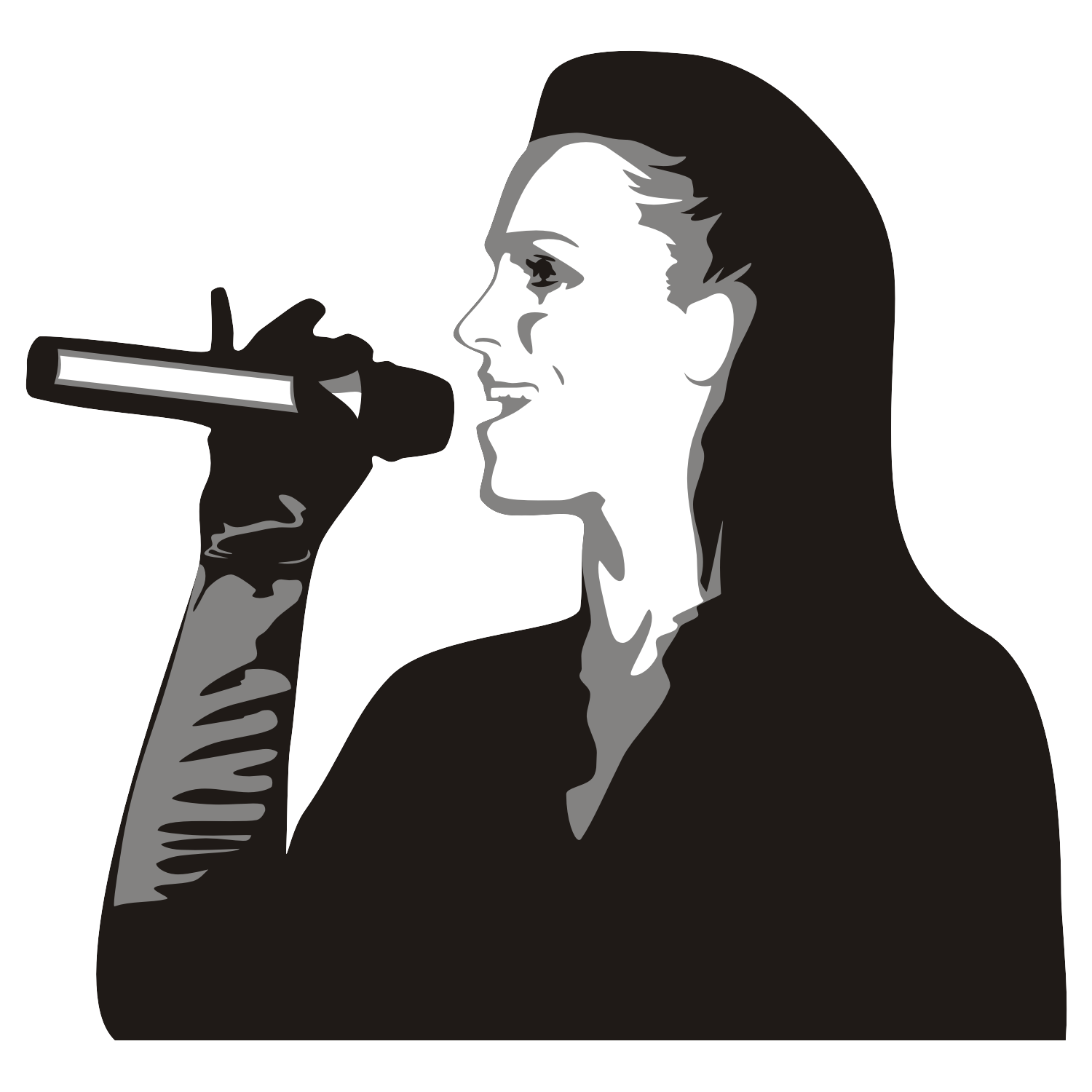 Singing Girl vector