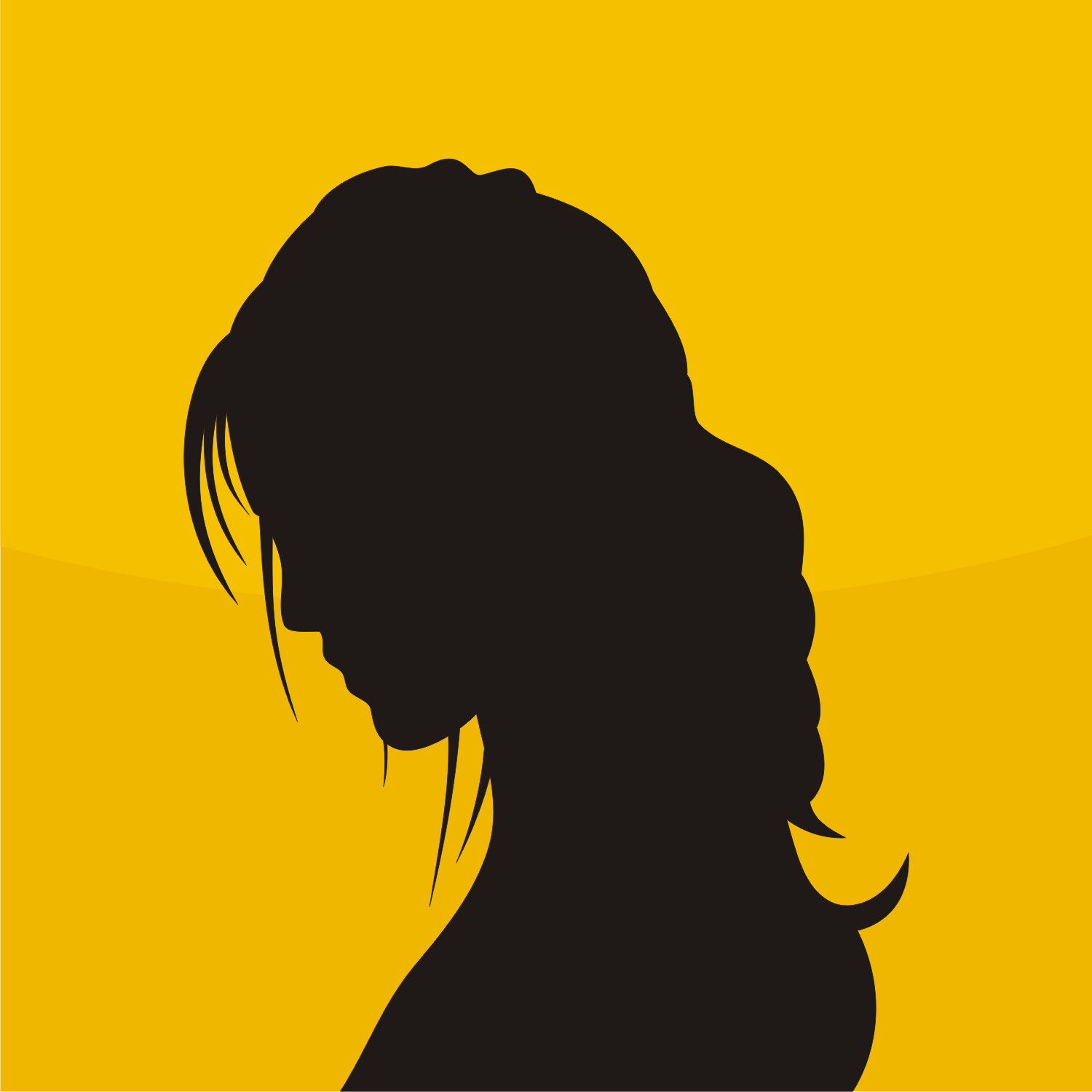 Avatar Woman: Vector For Free Use: Woman Avatar