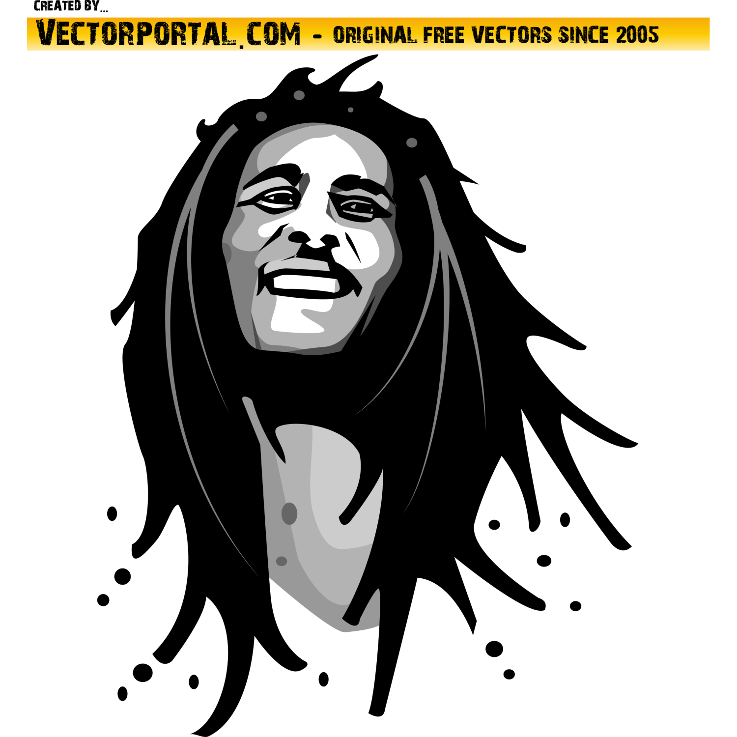 Bob Marley Vector Graphics