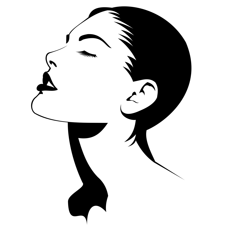 Woman vector art