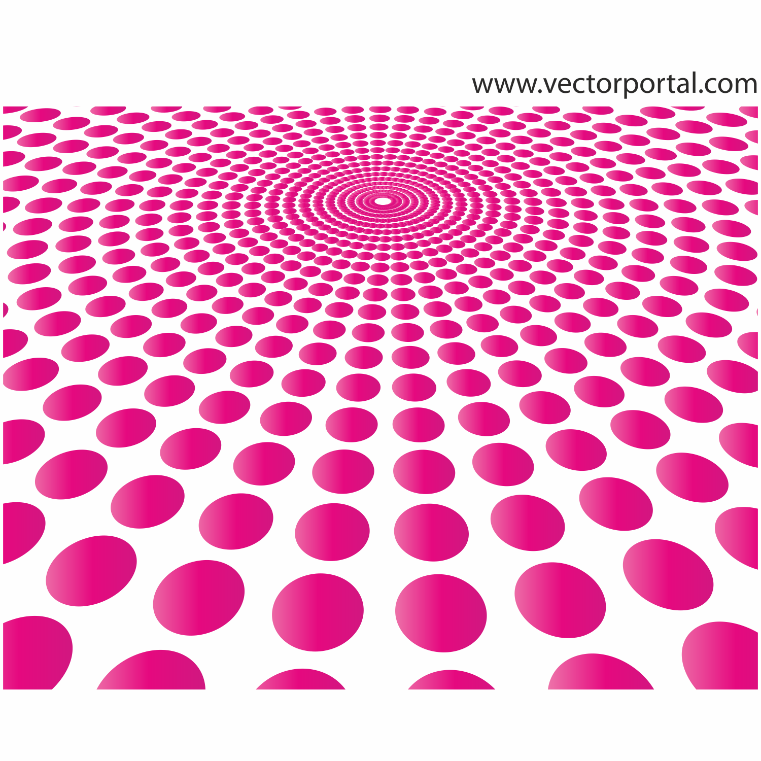 ABSTRACT PINK DOTS VECTOR DESIGN