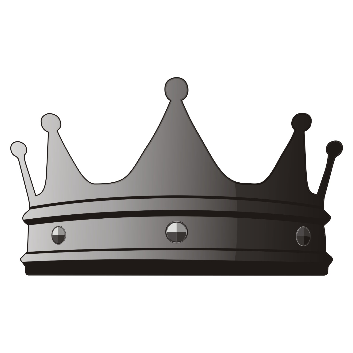Vector illustration of royal crown