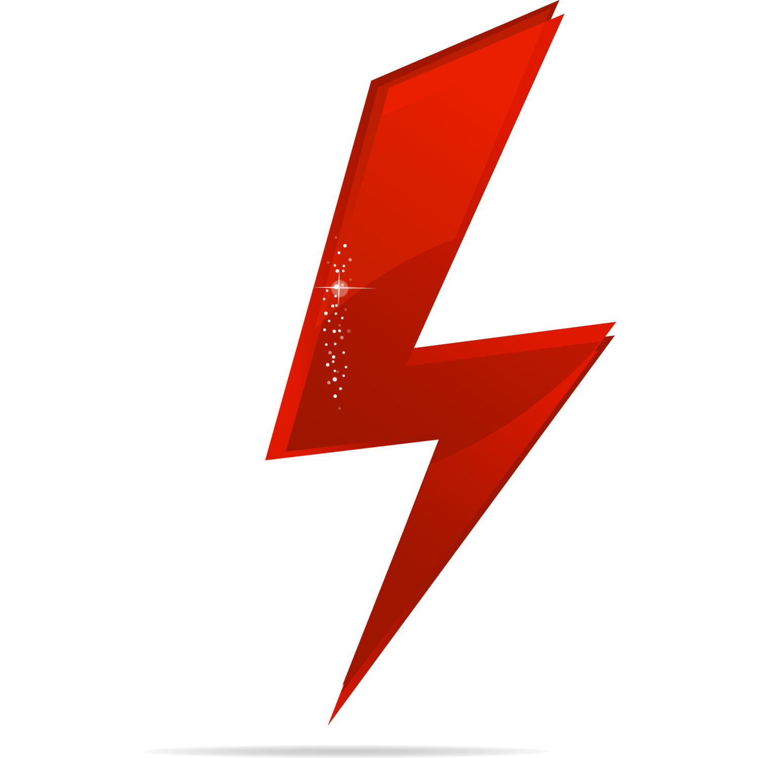 Red power icon