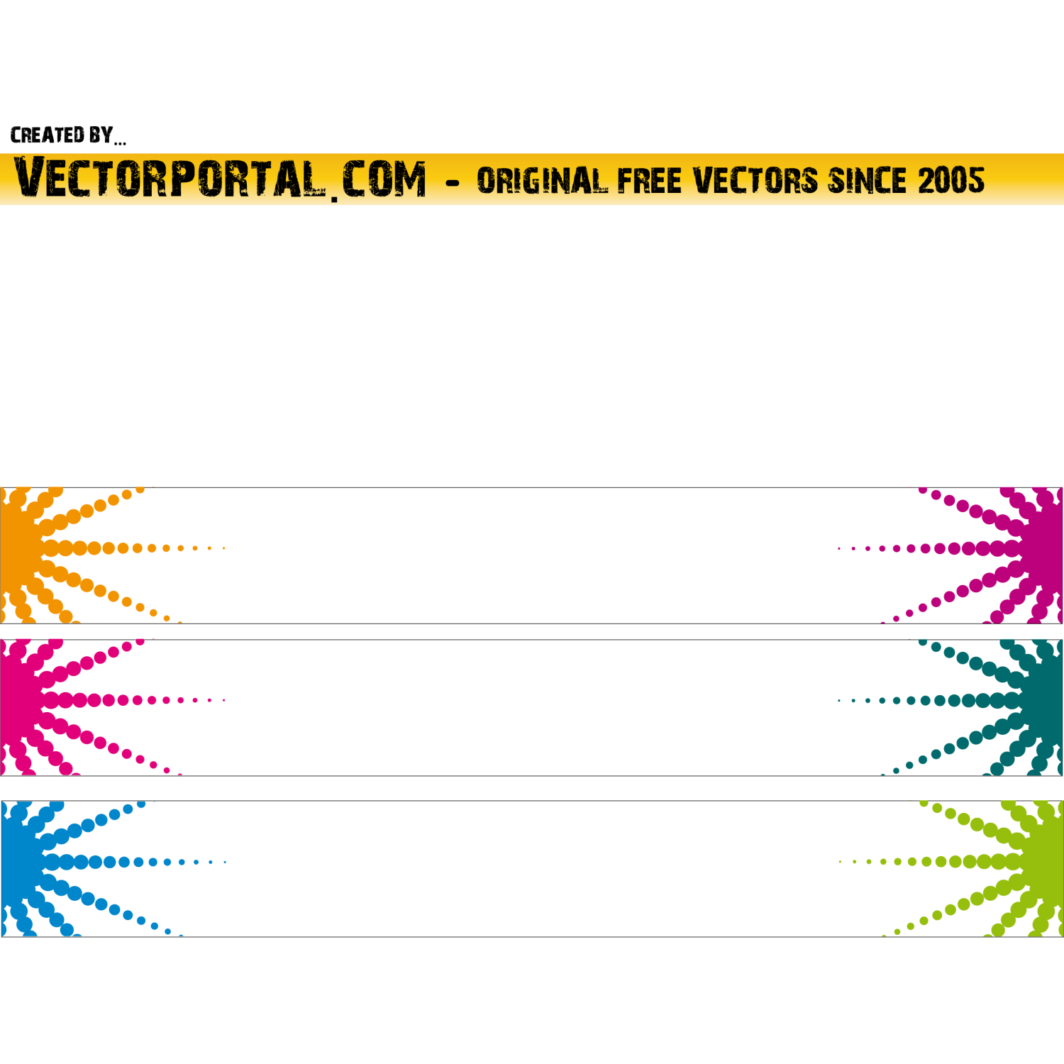 Banner background vector
