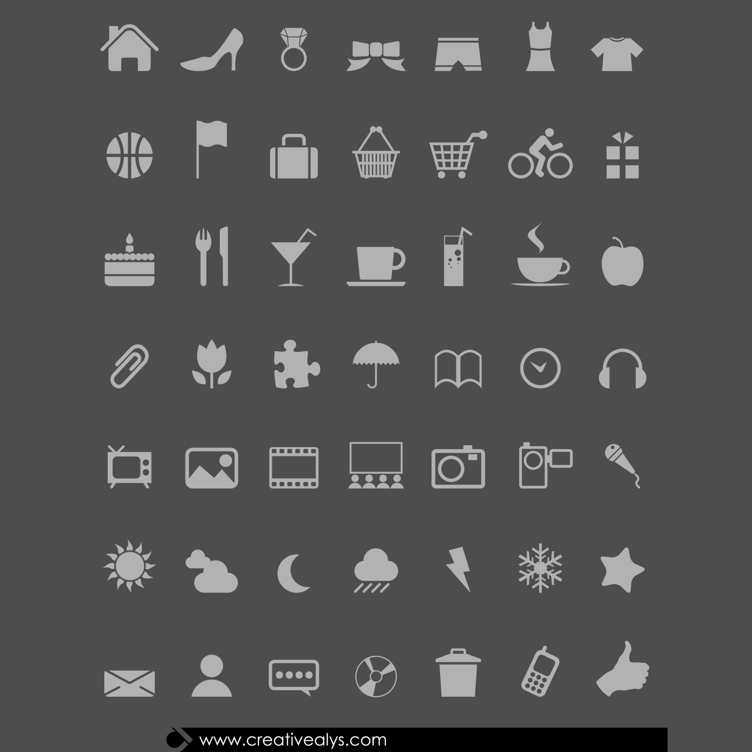 Every designer should have some handy modern web icons to be placed on web designs for different purposes