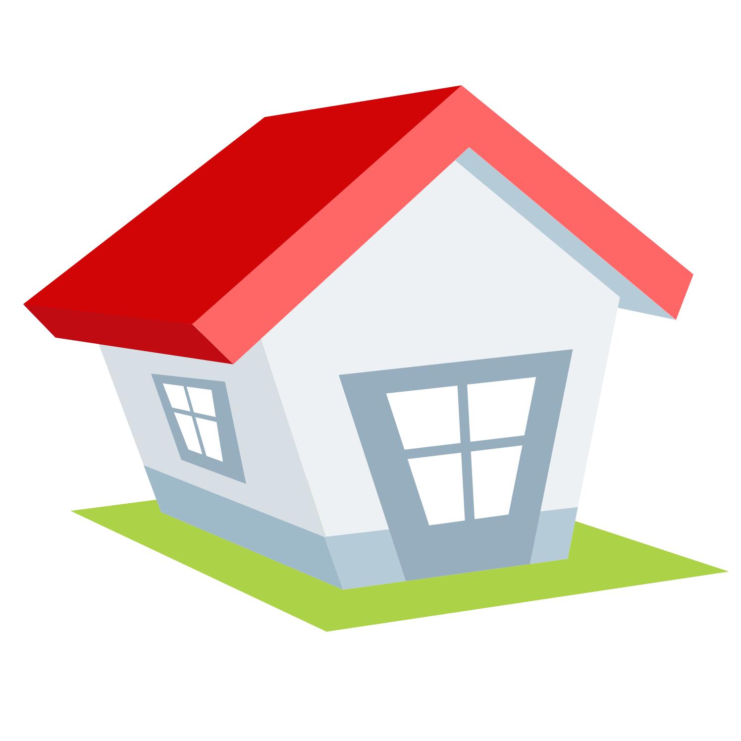 Vector For Free Use Cartoon House