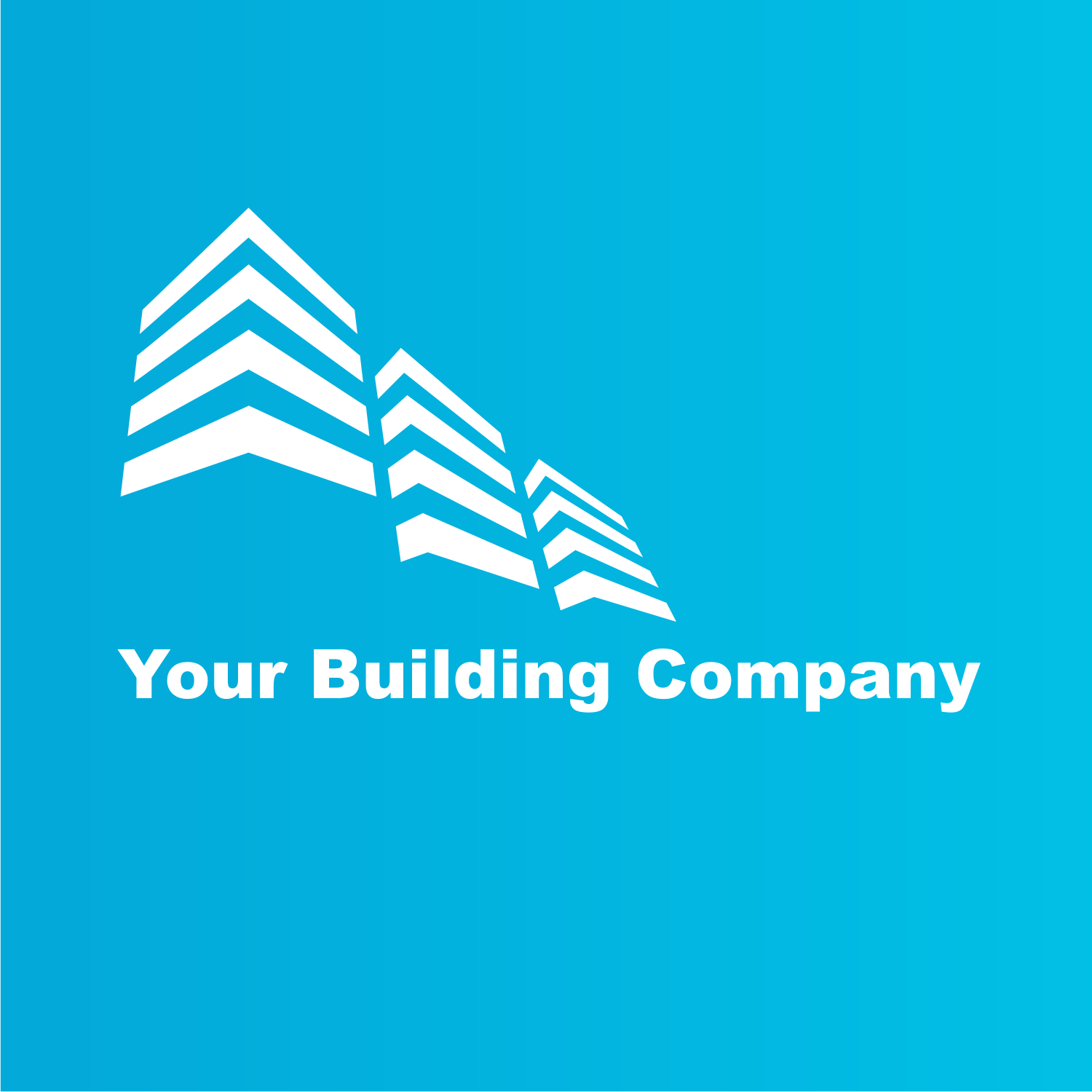 Building logo. Free vector template.