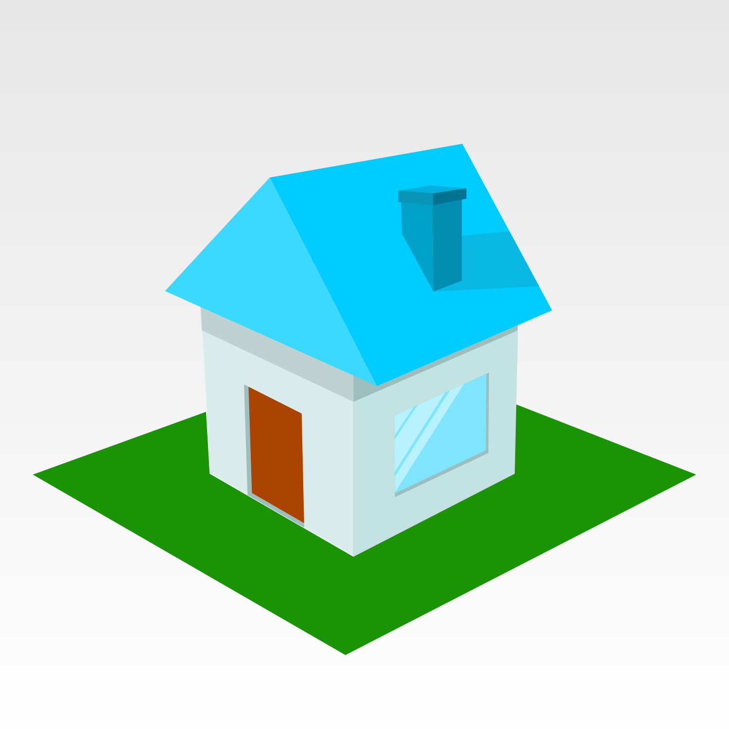 Vector For Free Use Small House Icon