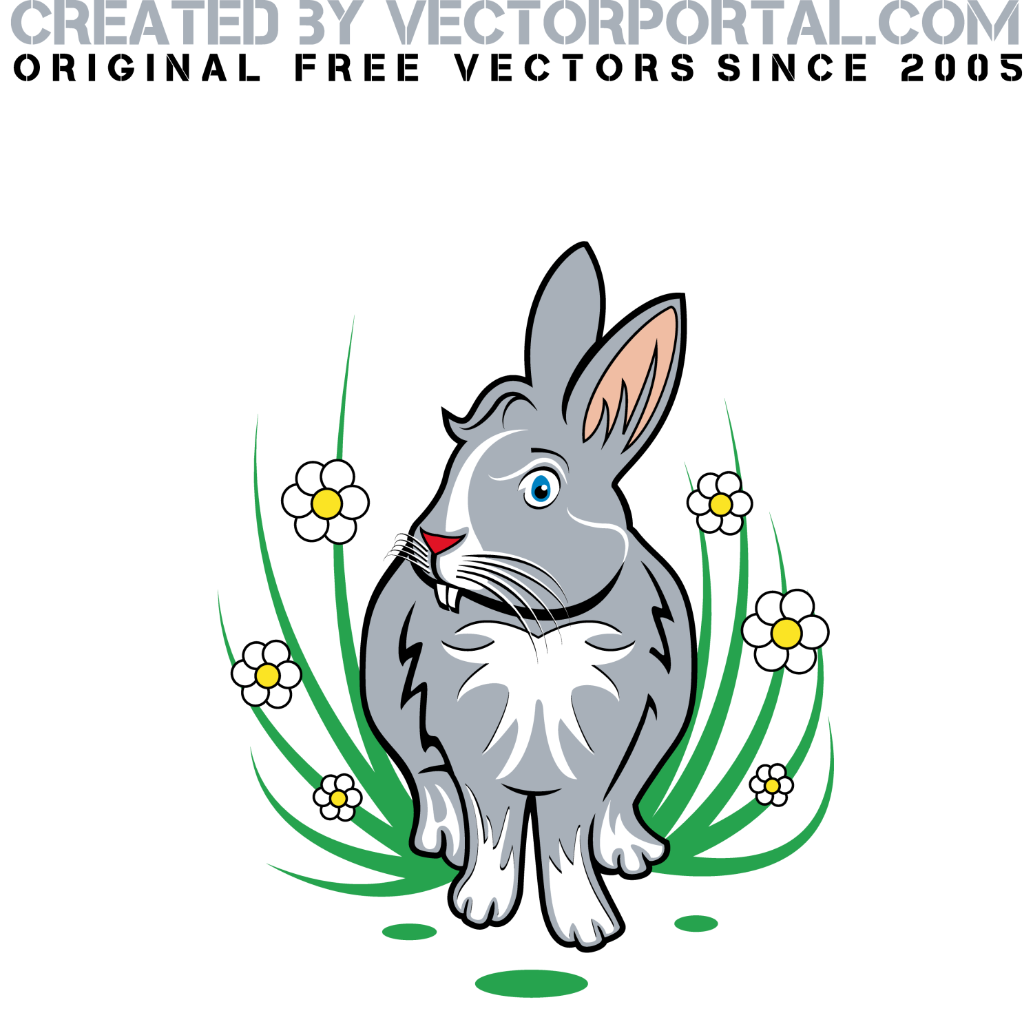 Rabbit vector clip art