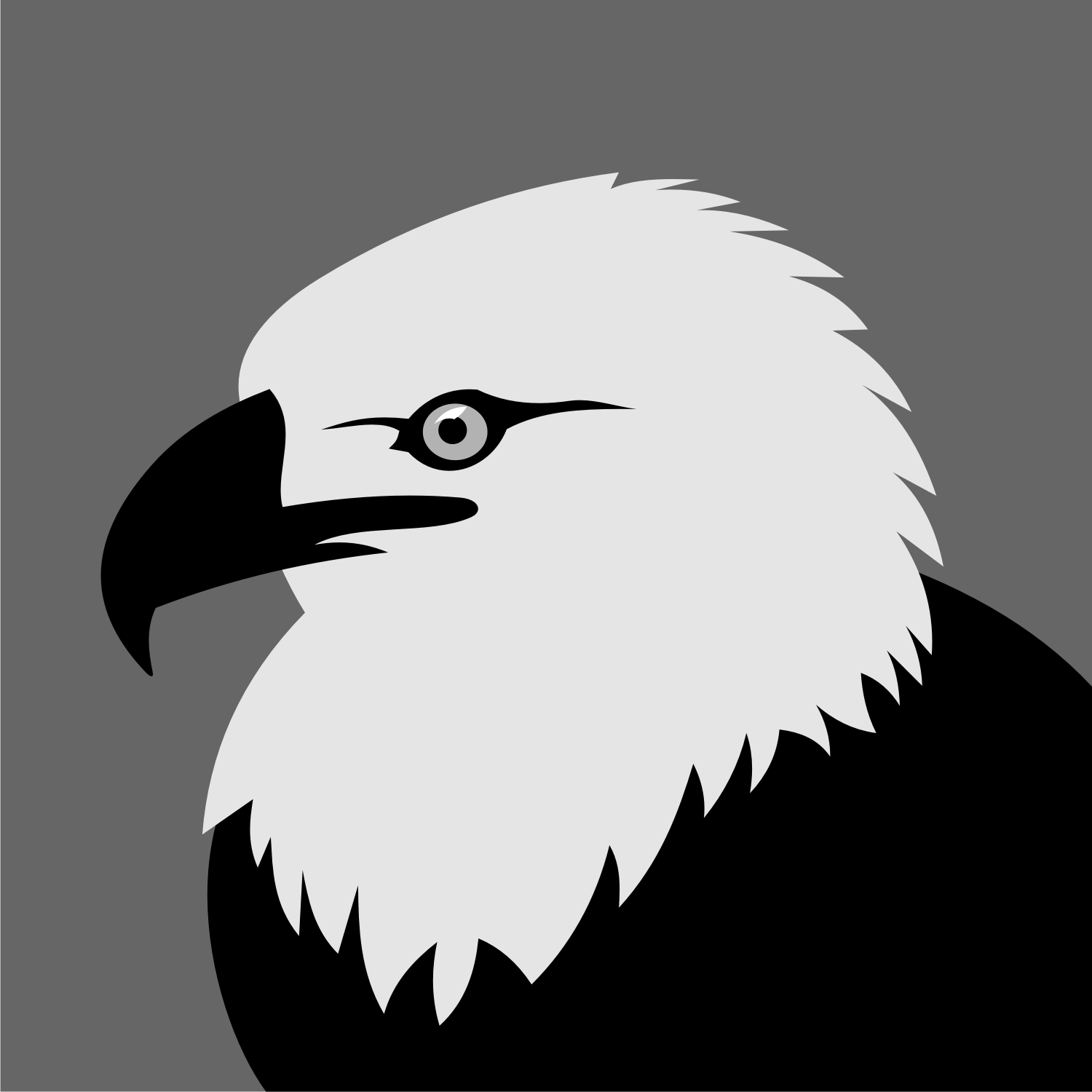 Vector illustration of a eagle.