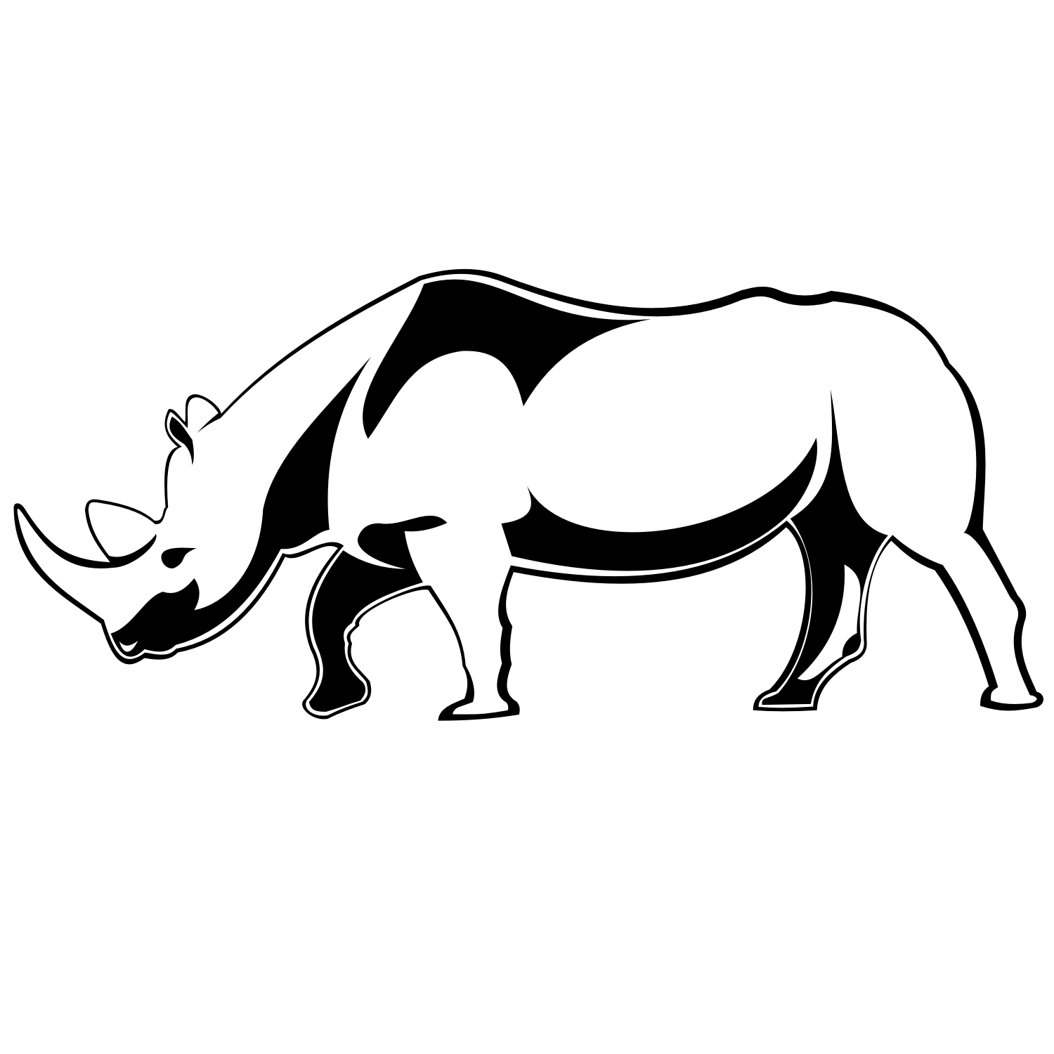 Rhino vector graphics