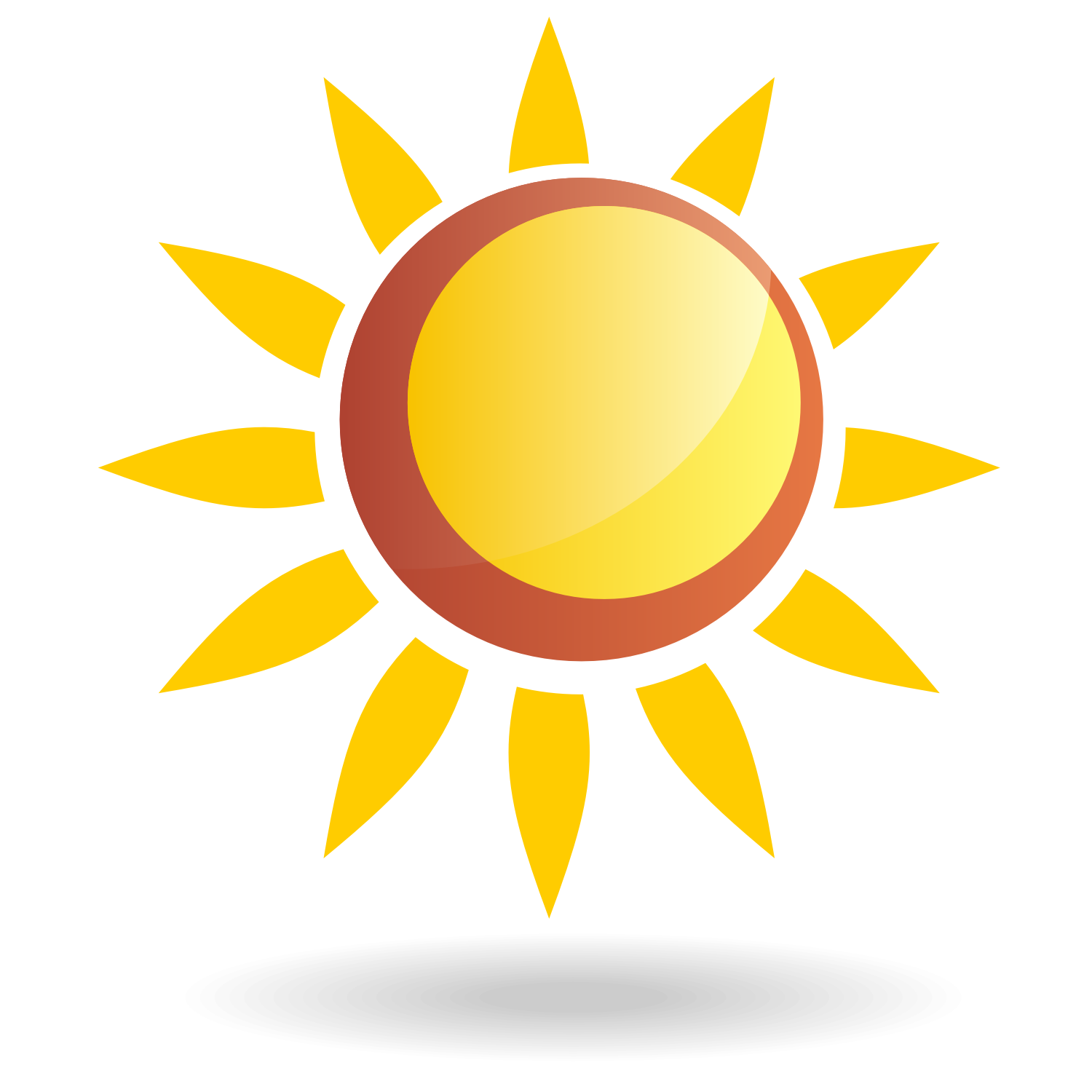 vector for free use sun vector