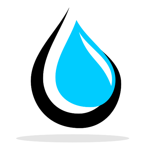 The gallery for --> Water Drop Logo Design