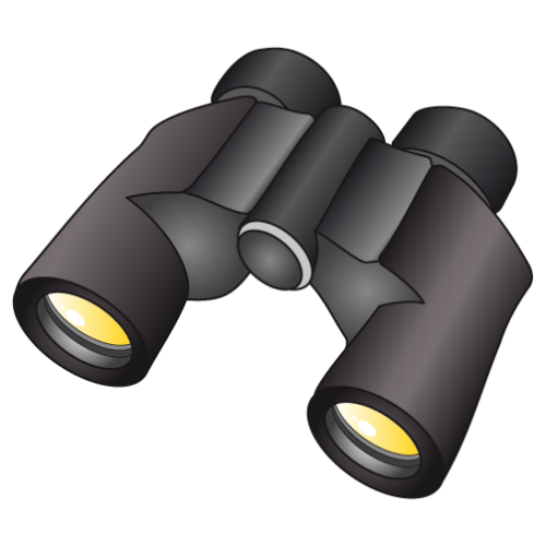 binoculars icon vector - photo #41