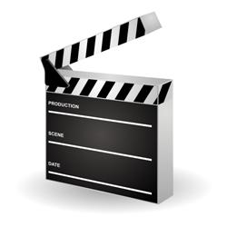 Movie Clapper Icon
