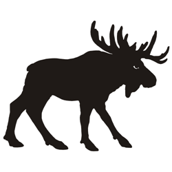 Moose silhouette