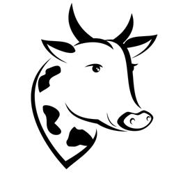 Vector cow
